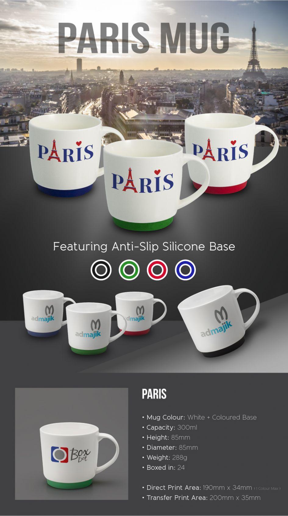 Printed Promotional Paris Mug E-Flyer