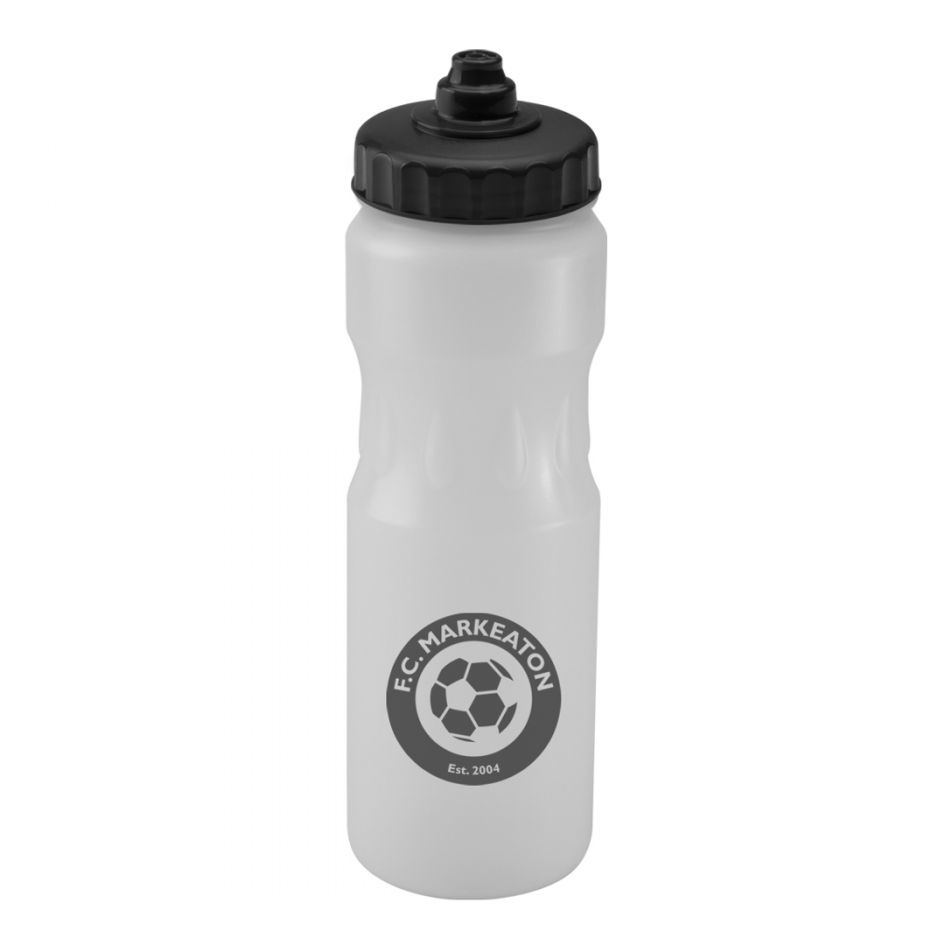 Printed Promotional Clear Teardrop Sports Bottle