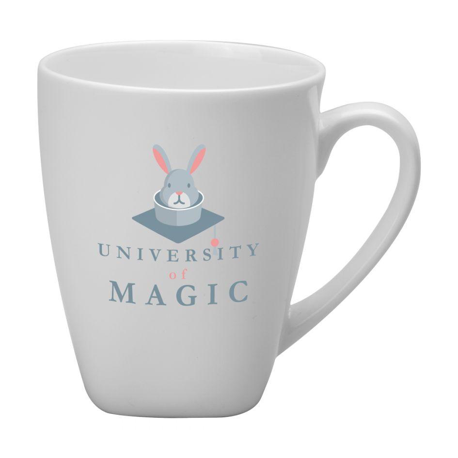 Printed Promotional Oxford White Mug