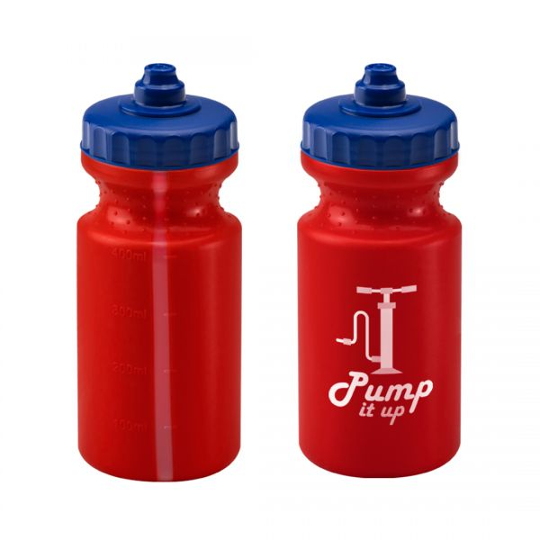 Printed Promotional 500ml Red Viz Sports Bottle