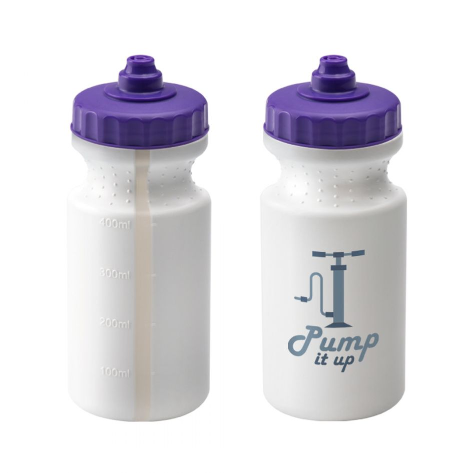 Printed Promotional 500ml White Viz Sports Bottle
