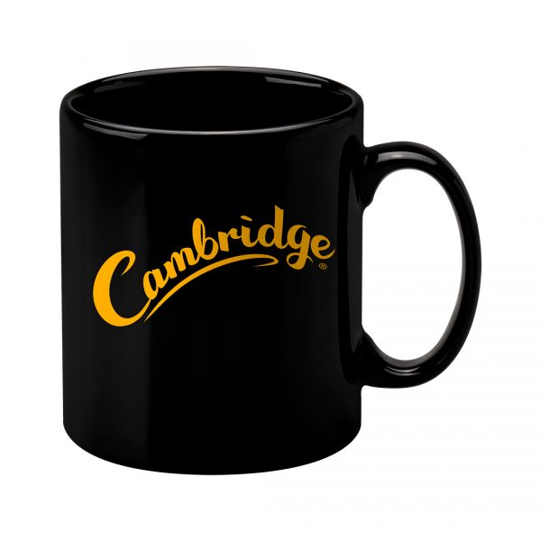Printed Promotional Cambridge Mug Black