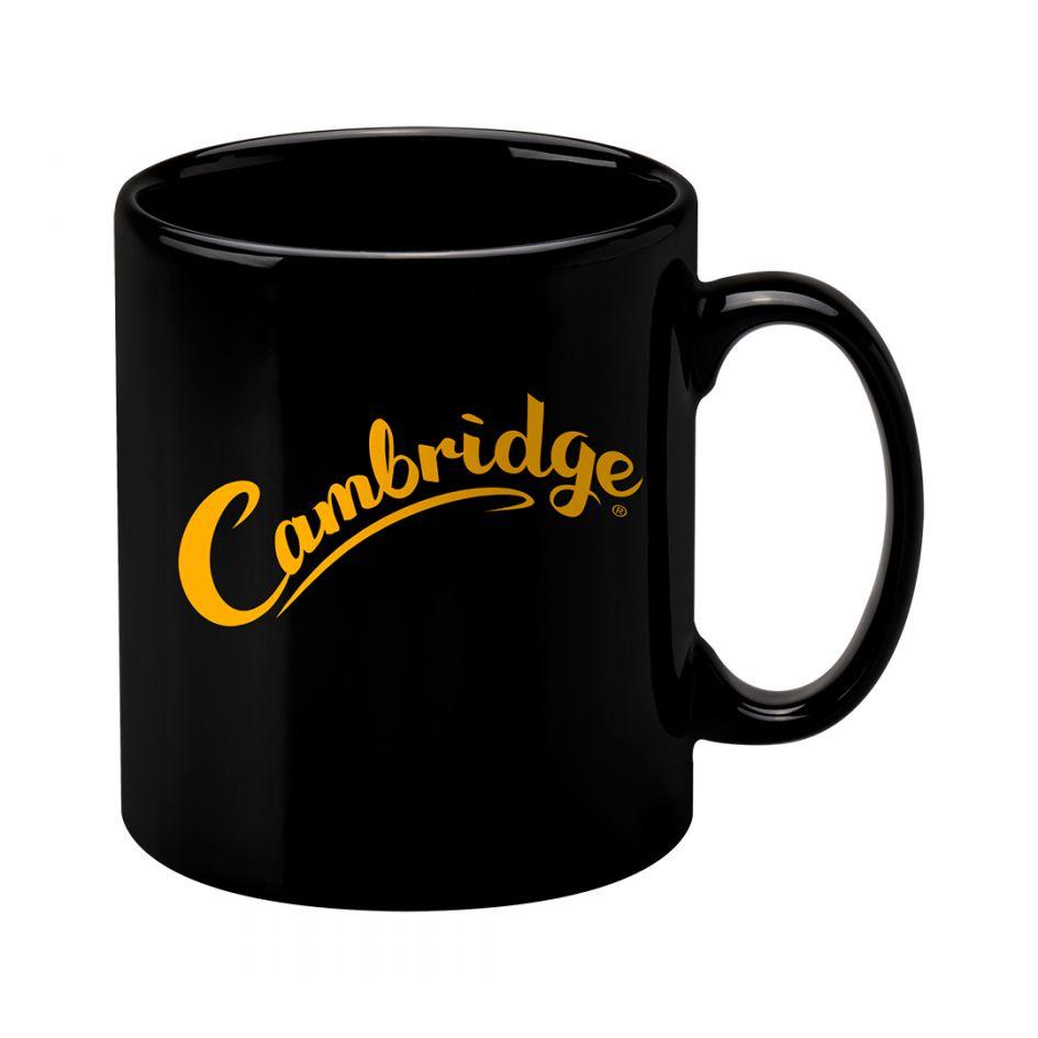 Printed Promotional Cambridge Mug Black