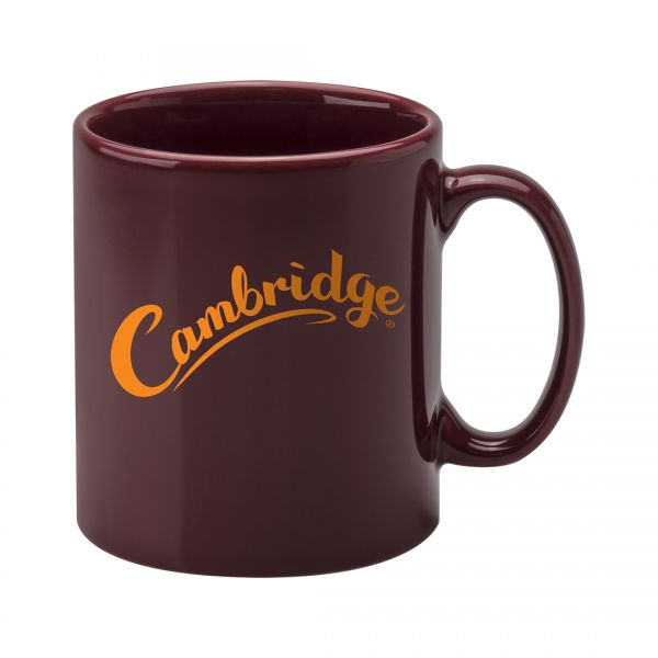 Printed Promotional Cambridge Mug Cranberry