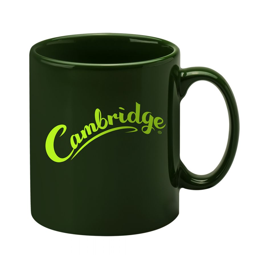 Printed Promotional Cambridge Mug Green