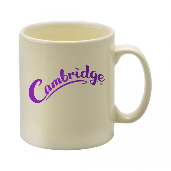 Printed Promotional Cambridge Mug Ivory