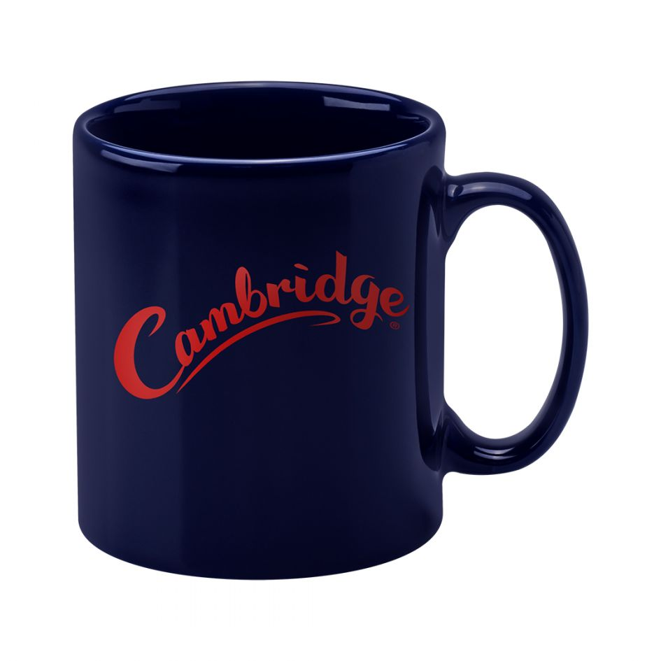 Printed Promotional Cambridge Mug Midnight Blue