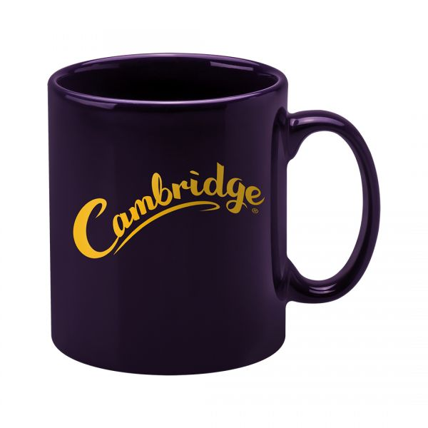 Printed Promotional Cambridge Mug Purple