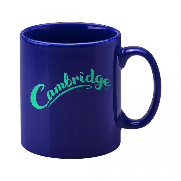Printed Promotional Cambridge Mug Reflex Blue