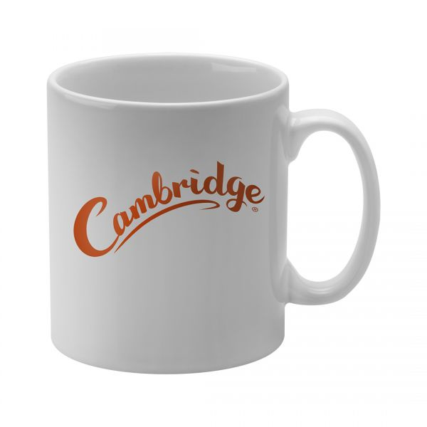 Printed Promotional Cambridge Mug White