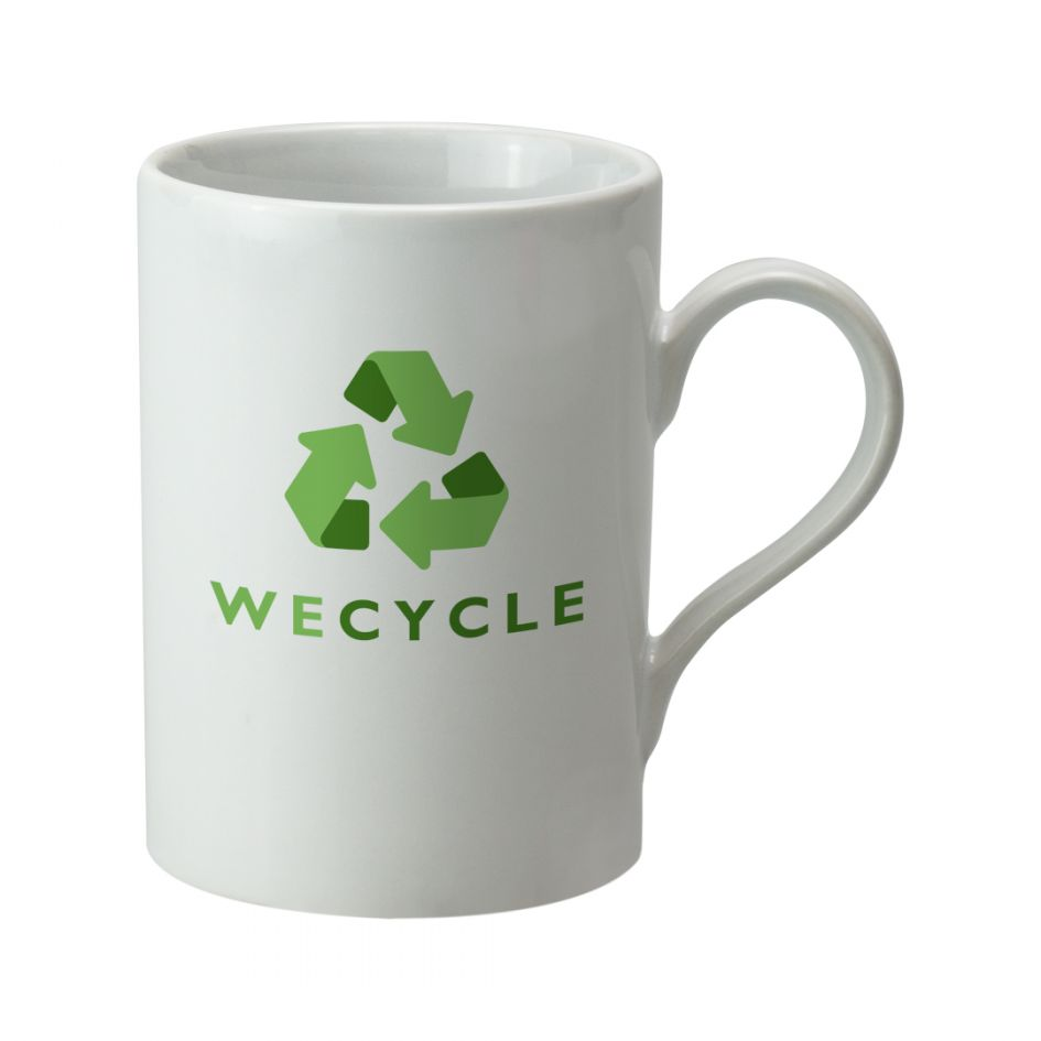Printed Promotional Can Mug White