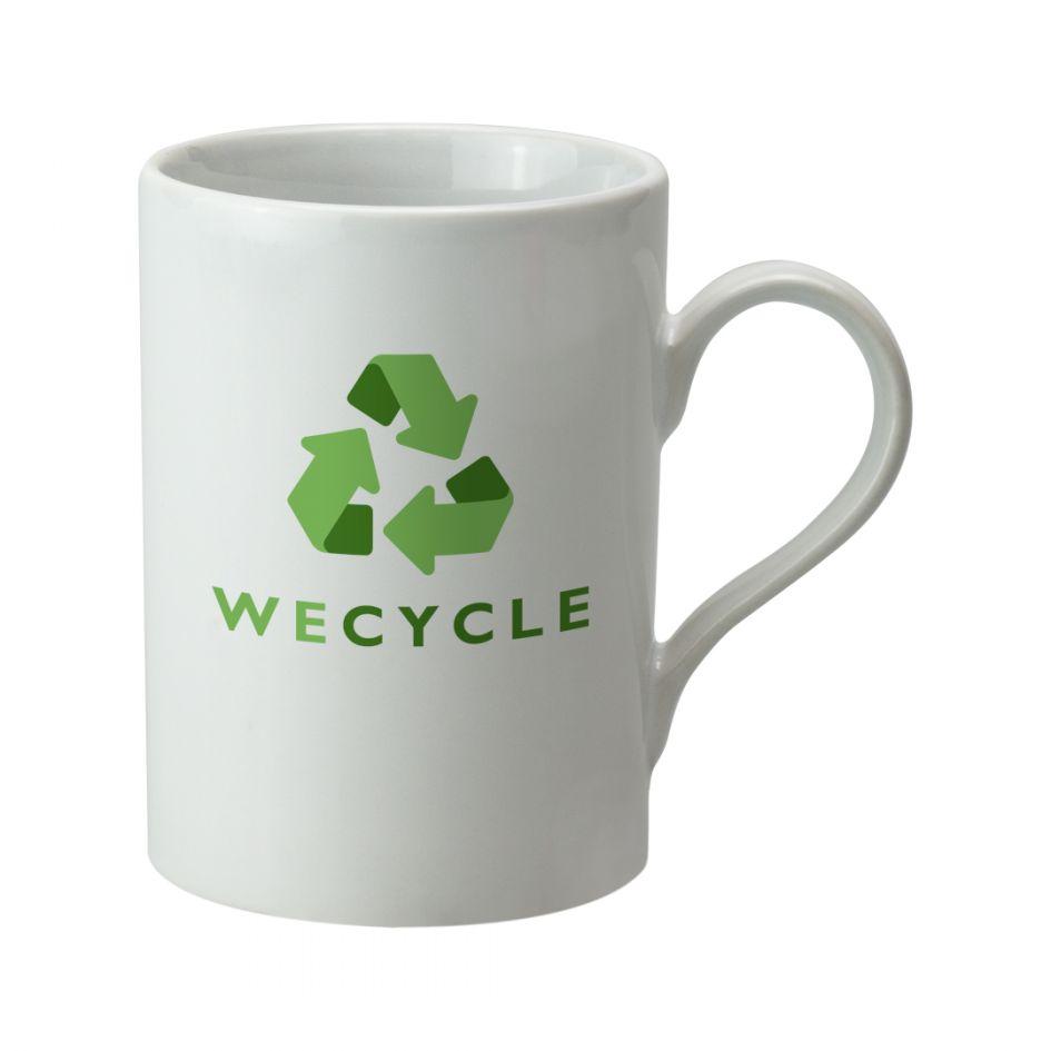 Printed Promotional Can Mug White