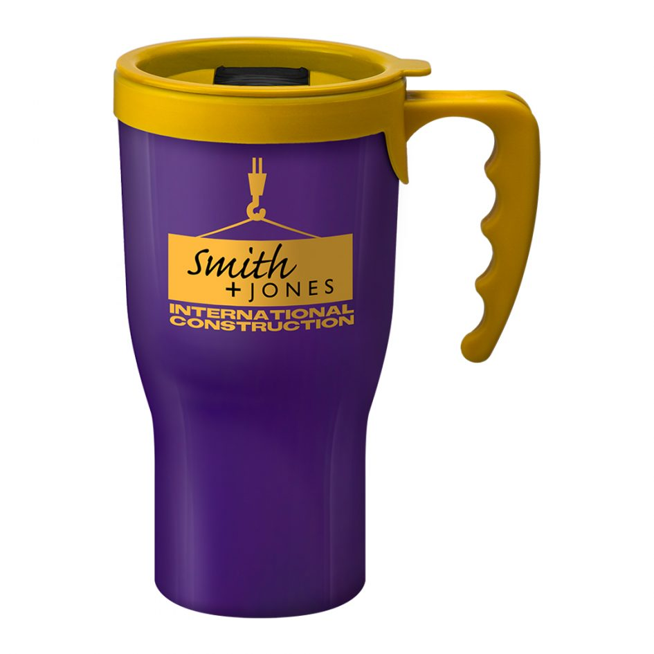 Printed Promotional Challenger Mug Purple