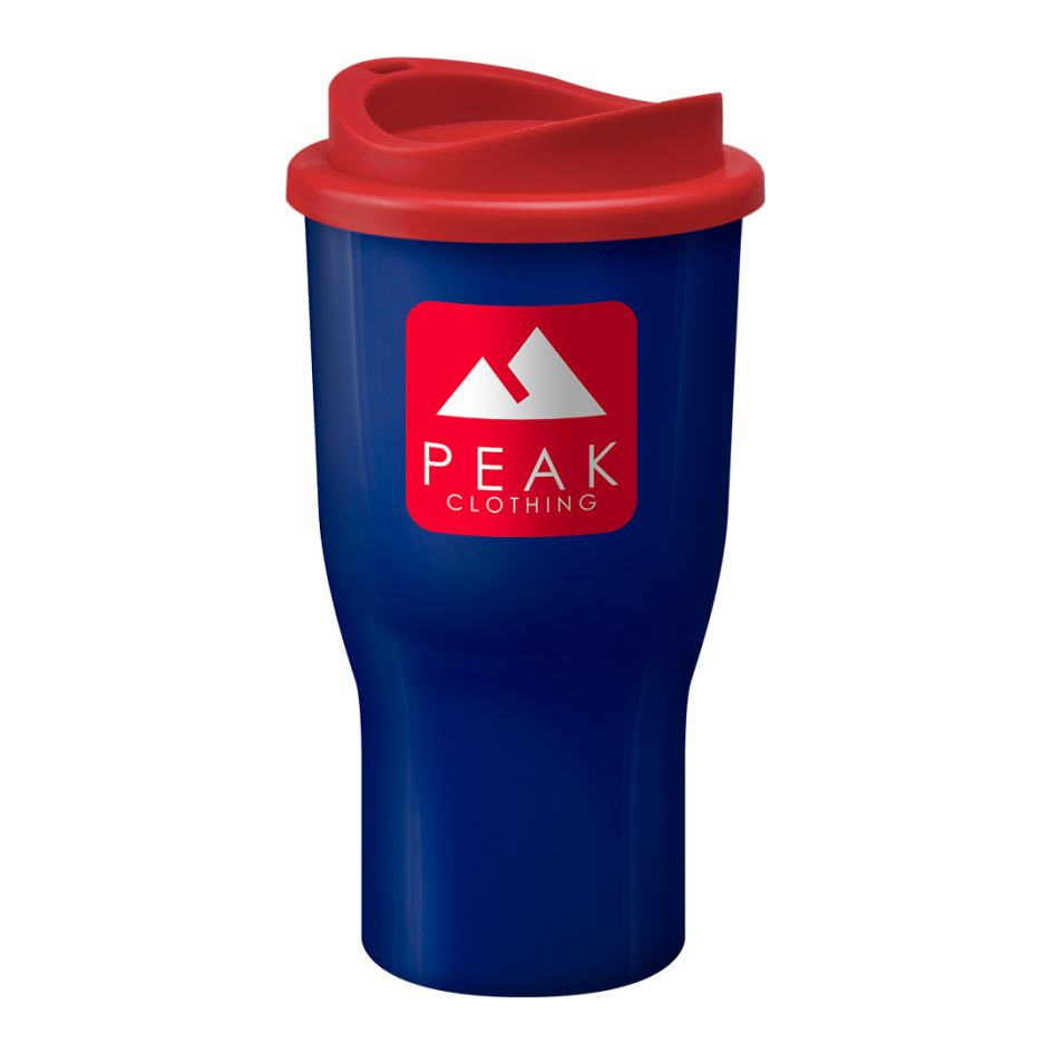 Printed Promotional Challenger Tumbler Blue