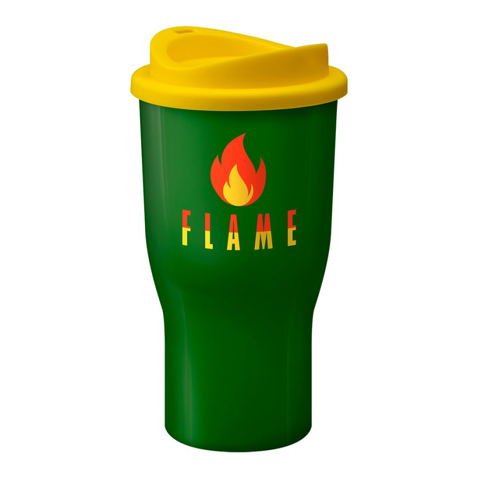 Printed Promotional Challenger Tumbler Green