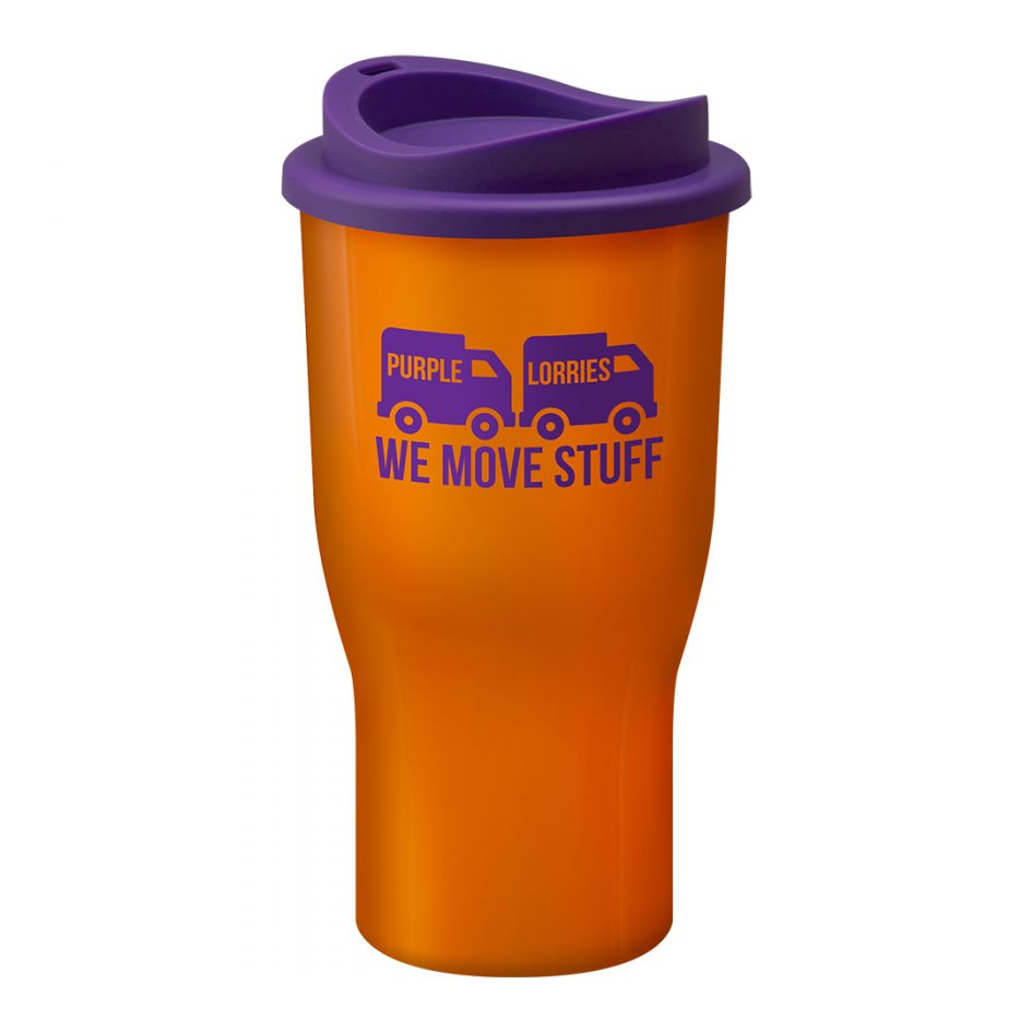 Printed Promotional Challenger Tumbler Orange