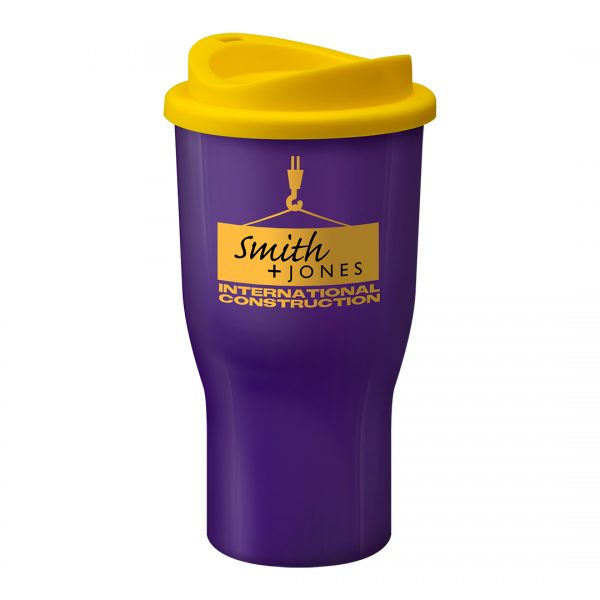 Printed Promotional Challenger Tumbler Purple