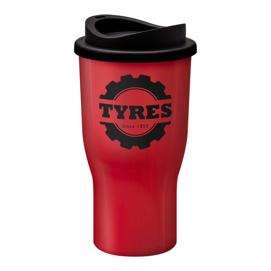 Printed Promotional Challenger Tumbler Red
