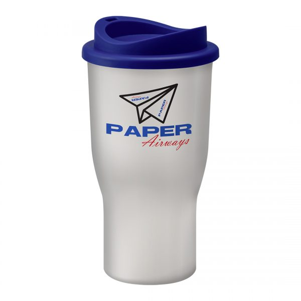 Printed Promotional Challenger Tumbler White