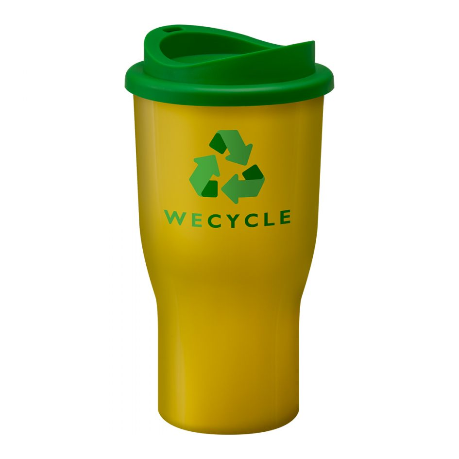 Printed Promotional Challenger Tumbler Yellow