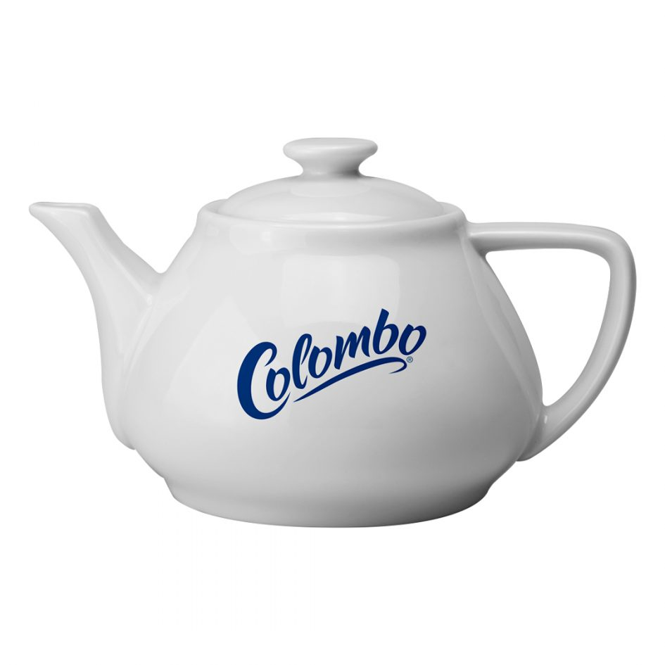 Printed Promotional Contemporary Teapot Large