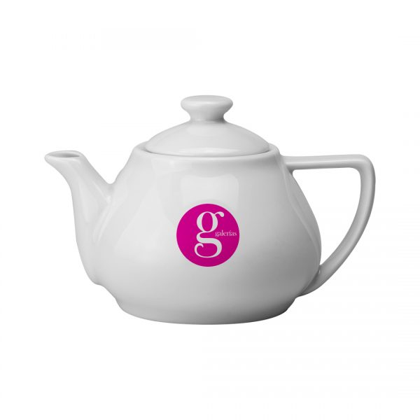 Printed Promotional Contemporary Teapot Small