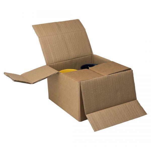 Corrugated Box for 4 Mugs