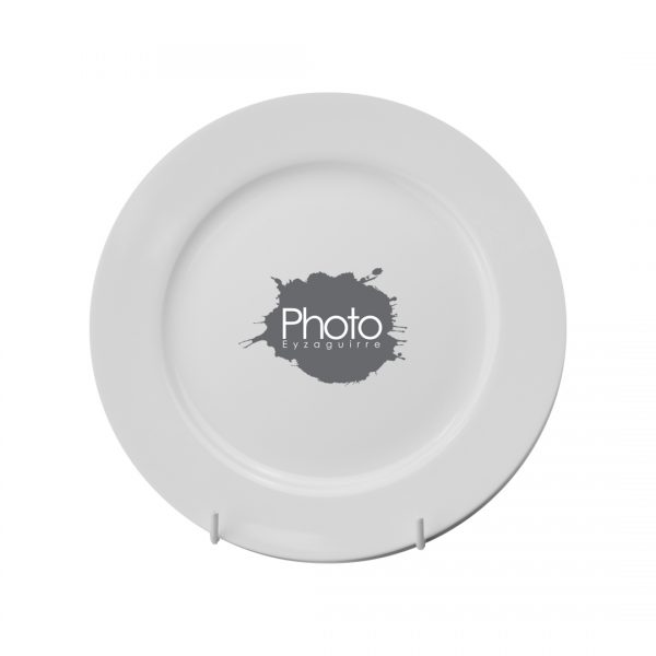 Printed Promotional Coupe Plate 8 inch