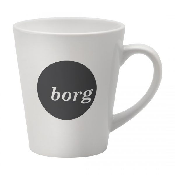 Printed Promotional Deco Mug White