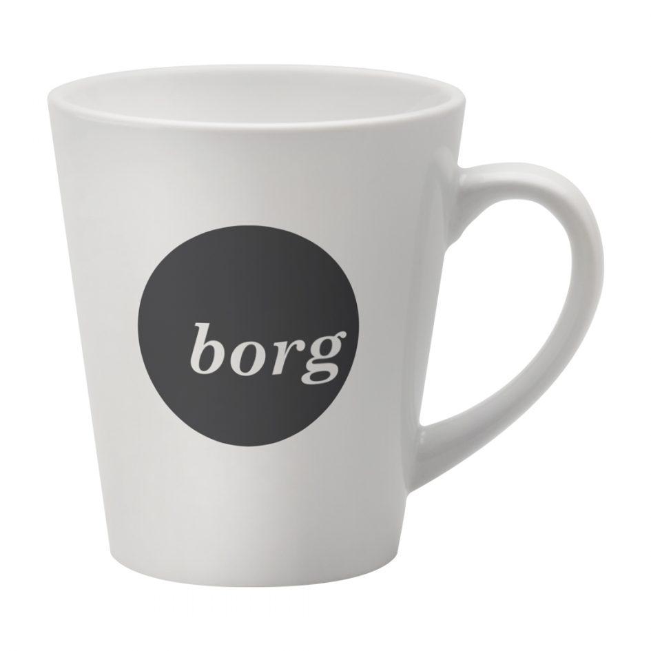 Printed Promotional Deco Mug White