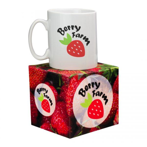Full Colour Printed Promotional Mug Box