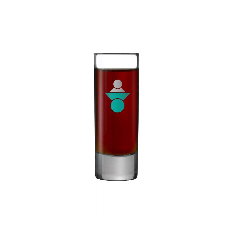 Printed Promotional Islande Vodka Shot Glass