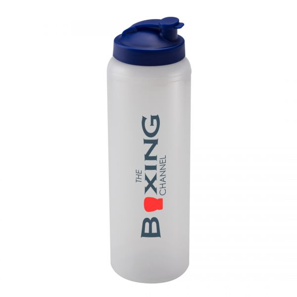 Printed Promotional Clear Litre Bottle