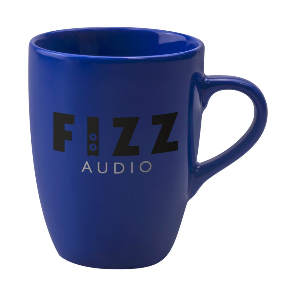 Printed Promotional Marrow Mug Reflex Blue