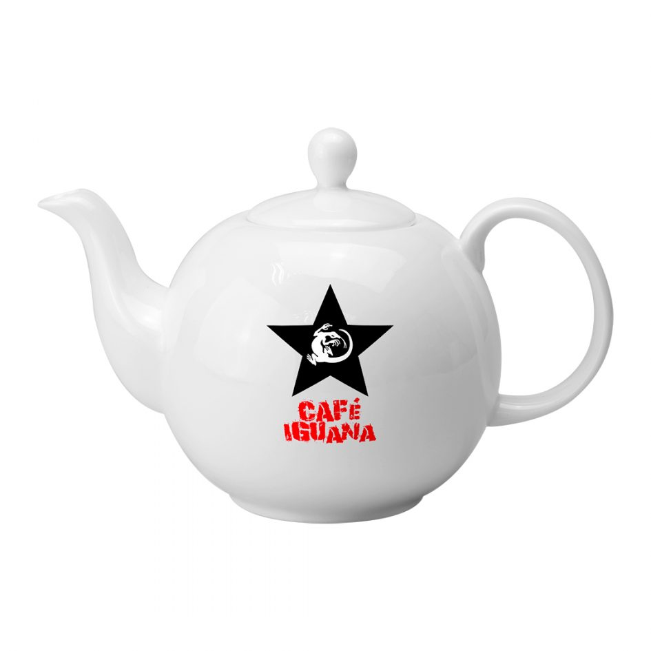 Printed Promotional Pot Belly Teapot