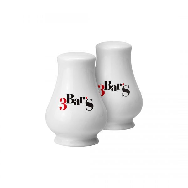 Printed Promotional Salt and Pepper Pots