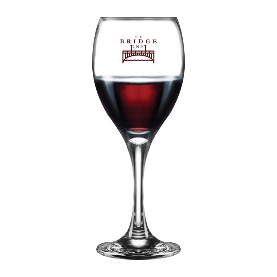 Printed Promotional Seattle Wine Glass