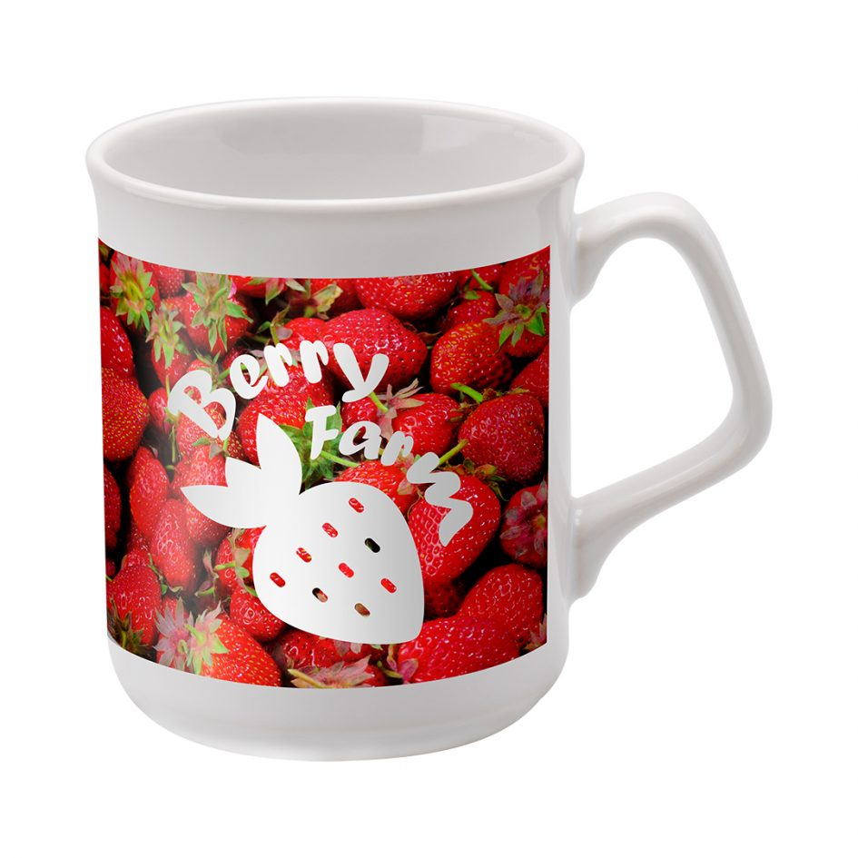 Printed Promotional Sparta Mug Dye Sublimation