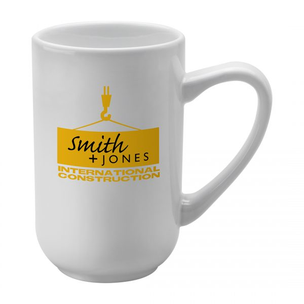 Printed Promotional Titan Mug White