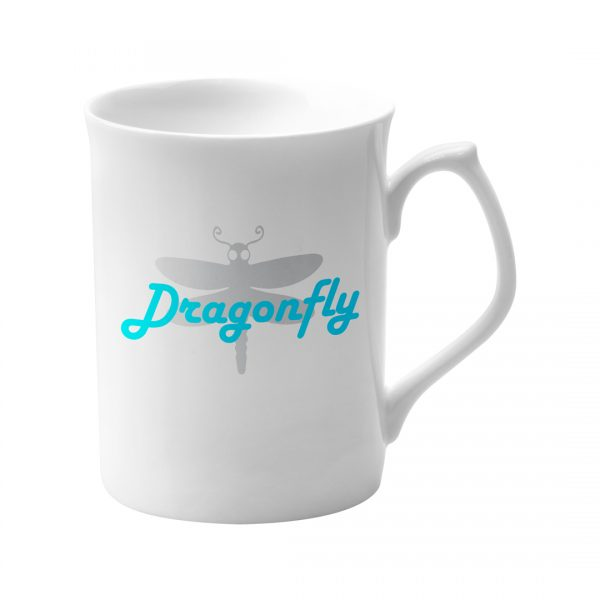 Printed Promotional Topaz Mug White