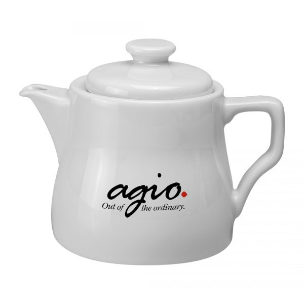 Printed Promotional Traditional Teapot Large