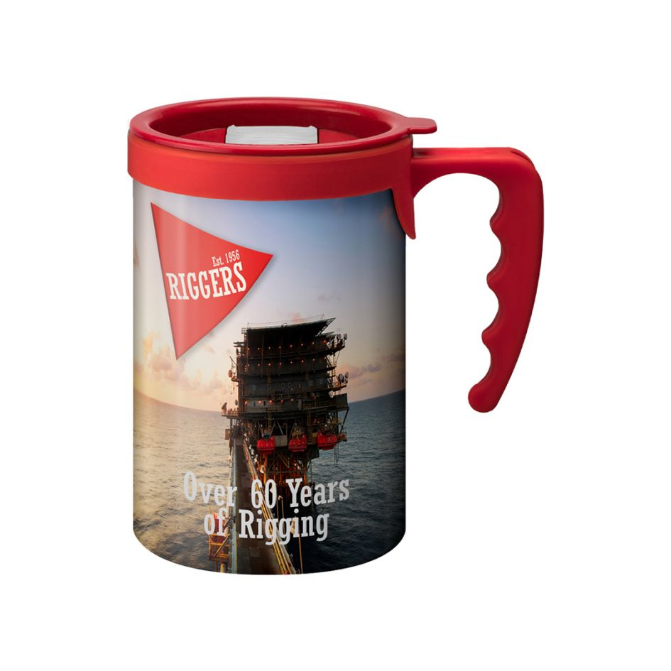 Printed Promotional Apollo with Red Handle
