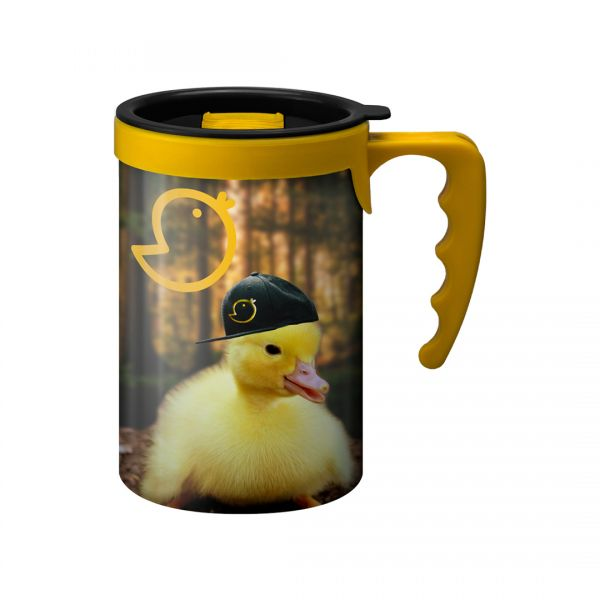 Printed Promotional Apollo with Yellow Handle
