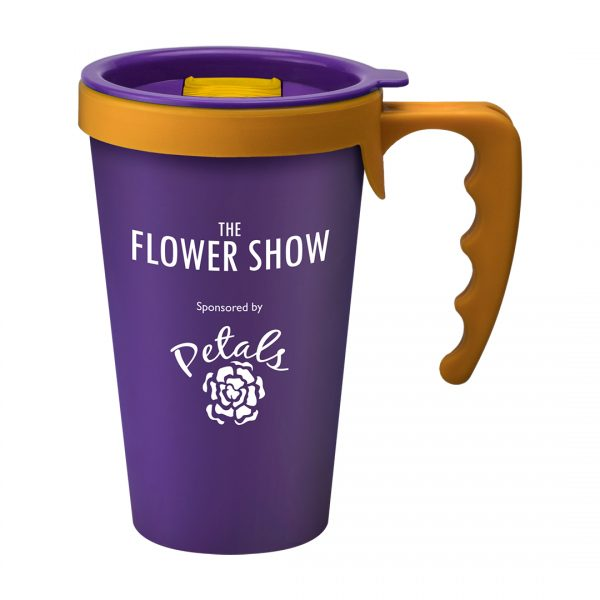 Printed Promotional Universal Mug Purple
