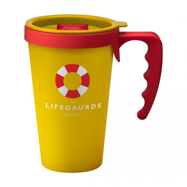 Printed Promotional Universal Mug Yellow