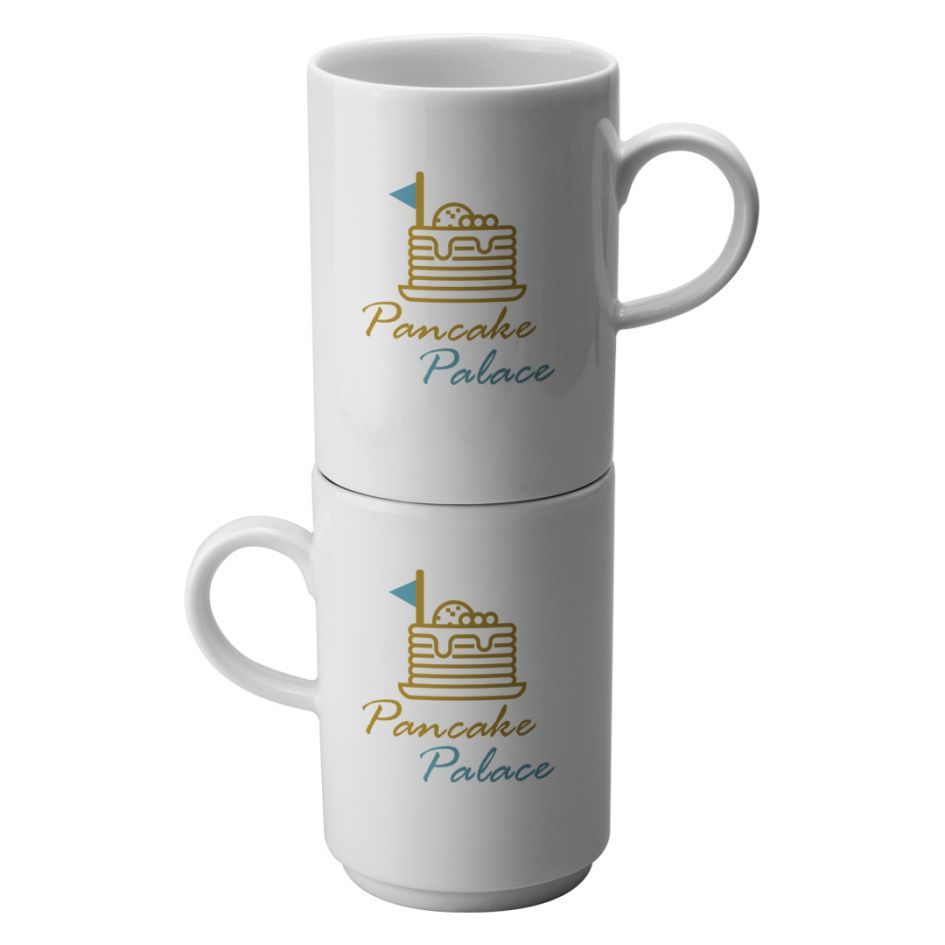 Printed Promotional Villeroy and Boch Stackable Mug