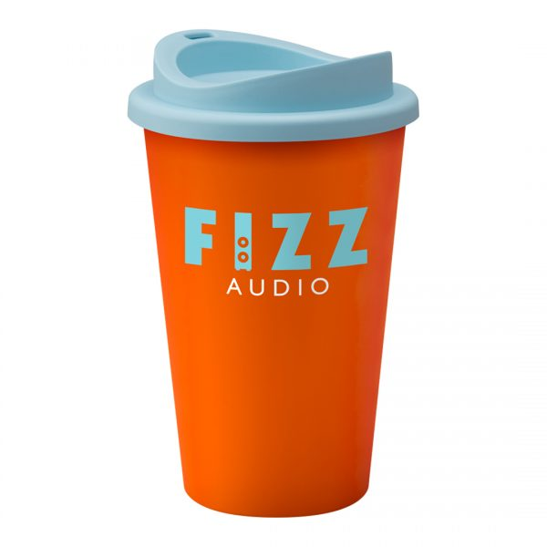Printed Promotional Universal Tumbler Orange