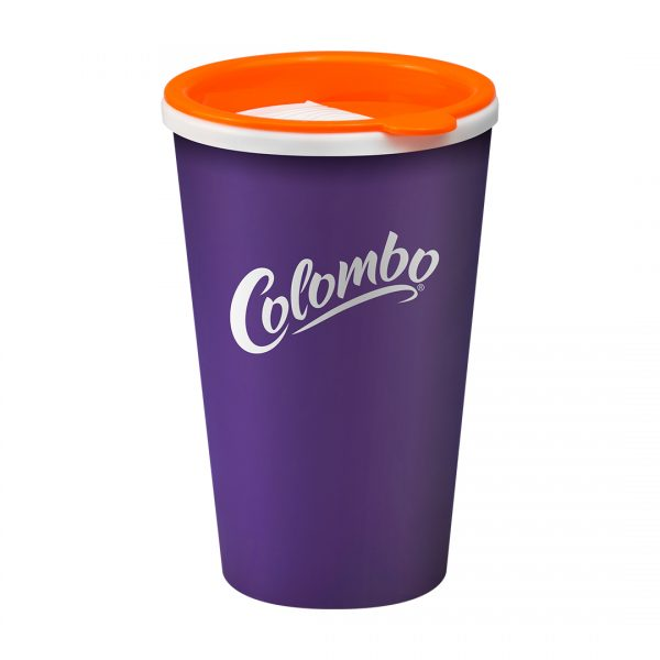 Printed Promotional Universal Tumbler Purple