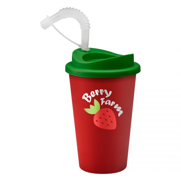 Printed Promotional Universal Tumbler Red