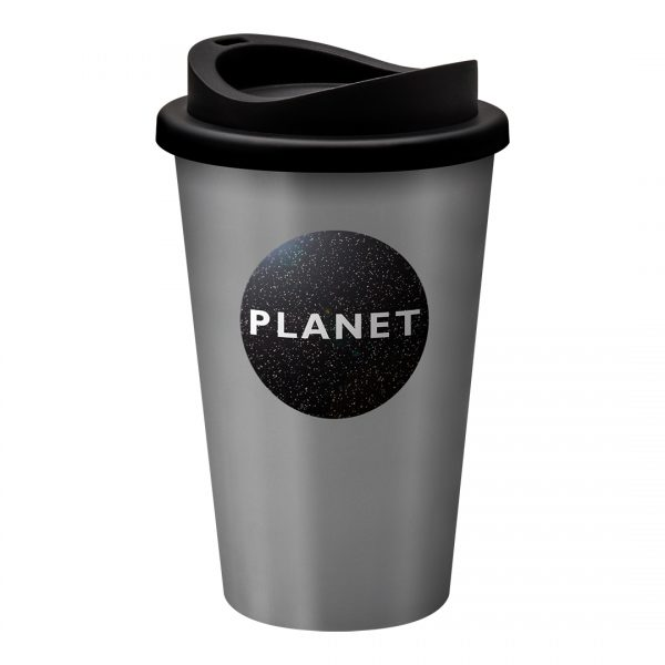 Printed Promotional Universal Tumbler Silver